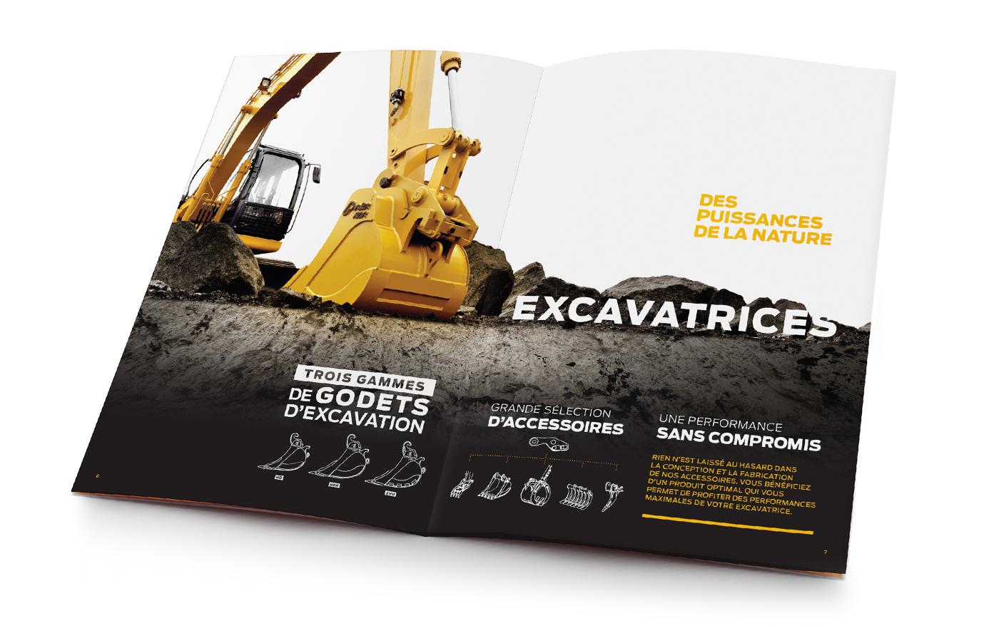 Une brochure sur mesure
